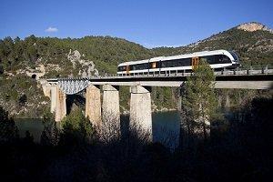 Imatge del tren panoràmic