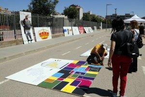 La falla estarà creada amb dibuixos i pintures creats per quinze artistes ponentins.