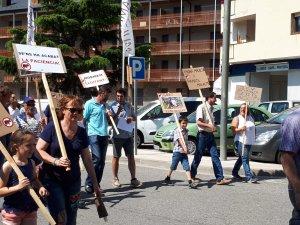 Més imatges de la manifestació dels ramaders del Pallars