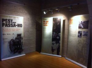 Part de l'exposició que es podrà veure al juliol a l'Espai Macià de les Borges Blanques