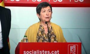 Pla mig de la representant del PSC a la gestora del PSOE, Teresa Cunillera