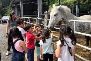 Una de les visites del Benvinguts a Pagès que s'ha fet aquest cap de setmana