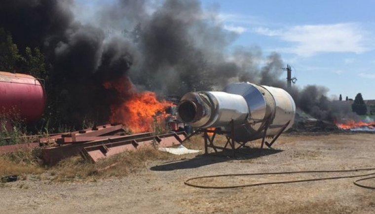 Imatge de les flames.