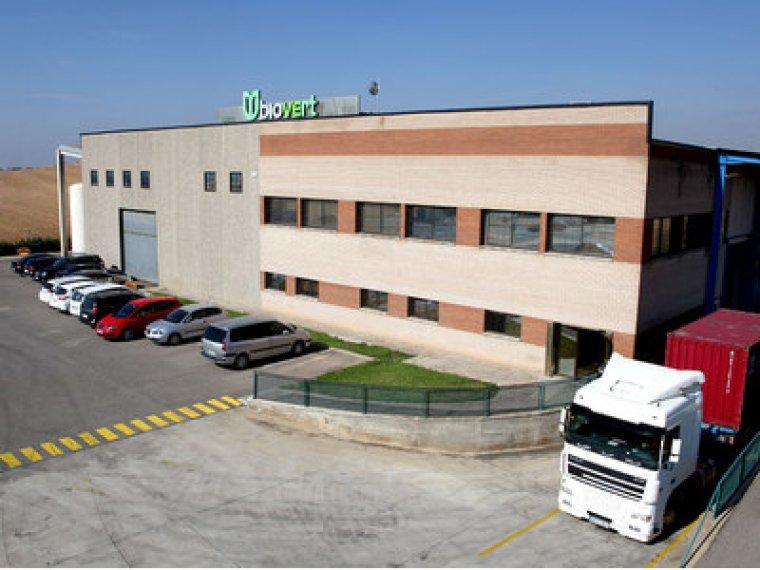 Imatge general de la façana de l'empresa Biovert de Corbins
