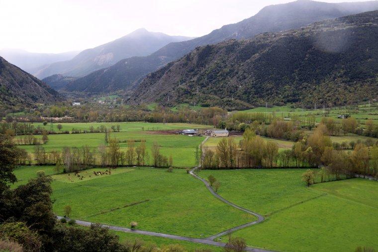 Panoràmica de l'esplana d'Escalarre, al Pallars Sobirà, on es celebrarà el Festival Doctor Music l'any 2019