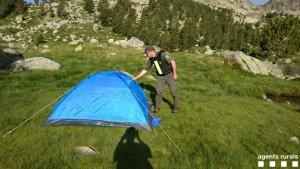 Imatge d'una acampada