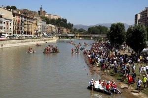 La celebració d'enguany ha rebut el mateix nombre de participants i d'embarcacions que l'any anterior.