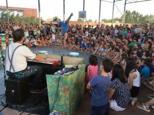 Un espectacle del Circ Picat, d'Alpicat