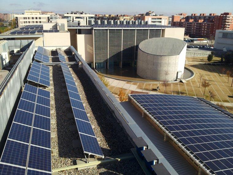El parc fotovoltaic del campus de Cappont