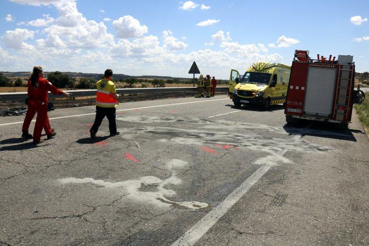 En l'accident ha perdut la vida una persona.