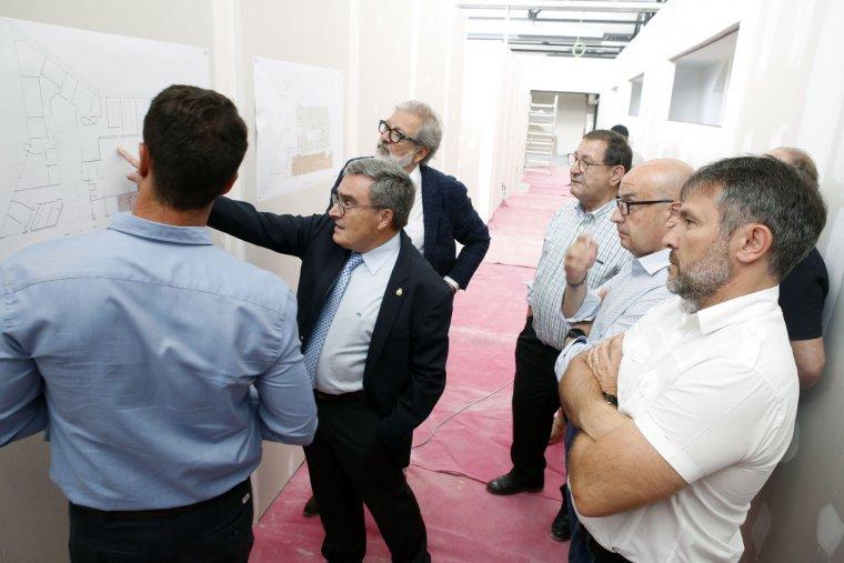 Es preveu que les obres de rehabilitació de l'edifici de Mercolleida estiguin enllestides en breu.
