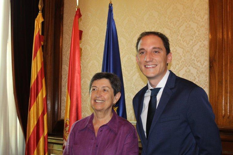Imatge de José Crespín amb Tere Cunillera