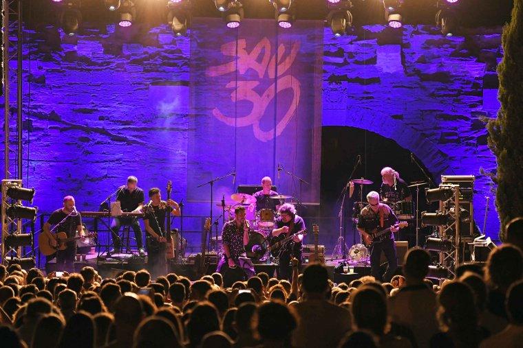 Imatge del concert de Sau 30