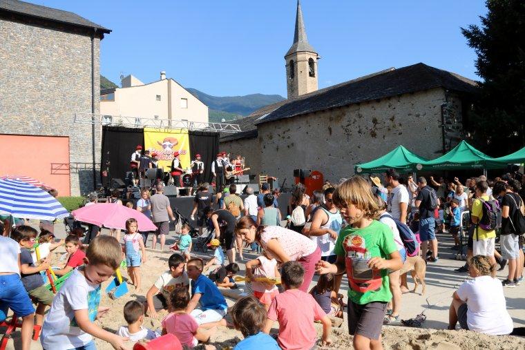 Imatge del concert inaugural del festival Esbaiola't el 19 de juliol del 2018