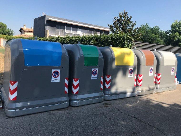 Imatge dels contenidors