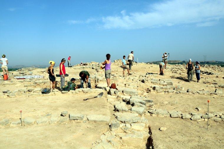 Pla general de les excavacions al poblat ibèric del Gebut de Soses