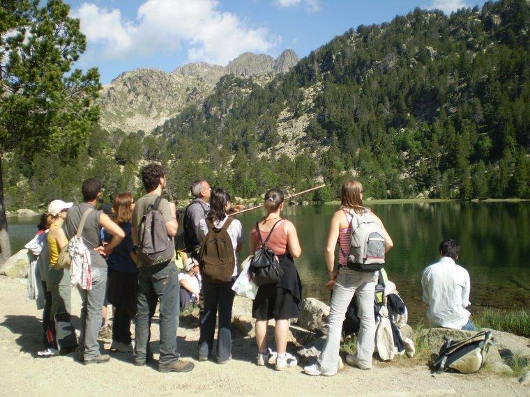 Un dels tallers del màster tindrà lloc a l'Alt Pirineu