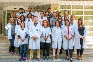 Grup d'investigadors encapçalats pel doctor Barbé