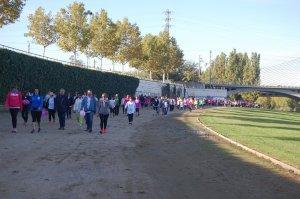 Imatge d'arxiu d'una marxa de l'AECC a Lleida