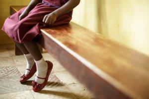 Imatge d'arxiu d'una nena