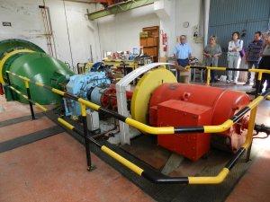 Imatge de la central elèctrica d'Almenar