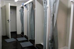 Imatge de les dutxes dels temporers