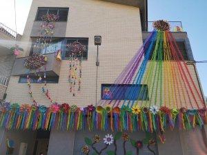 Imatge d'un balcó d'Alcarràs