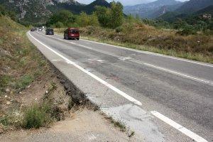 L'accident s'ha registrat al punt quilomètric 158 de la C-14.