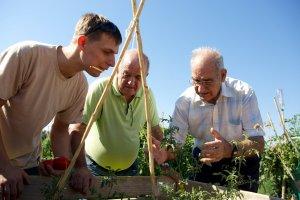 Més imatges del voluntariat social en gent gran