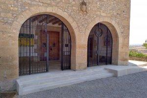 Nova escalinata i rampa per accedir a Sant Elloi