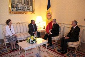 Pla general de l'ambaixador de l'estat espanyol a Andorra, Àngel Ros