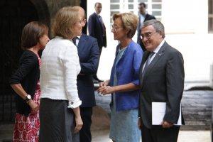Pla general del nou ambaixador de l'estat espanyol a Andorra, Àngel Ros