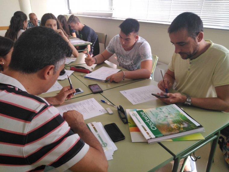 Estudiants de l'EOI de Lleida