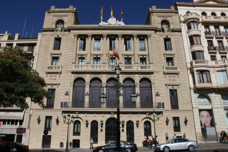 Imatge de la façana de l'Ajuntament de Lleida.
