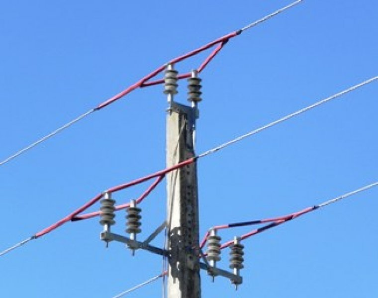 Imatge d'una torre elèctrica