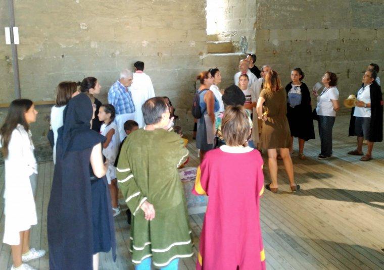 Imatge d'una visita dels Templers