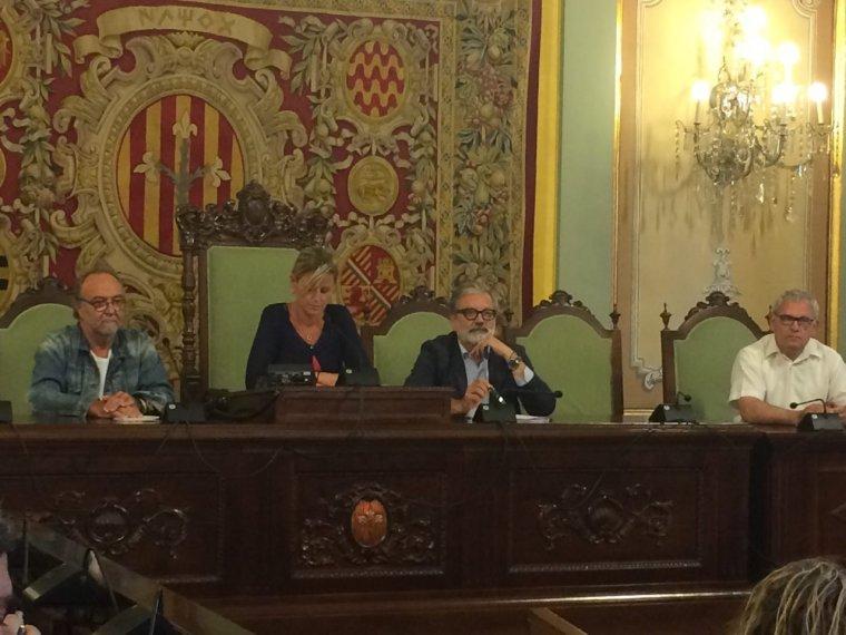 Montse Mínguez ha presidit el ple