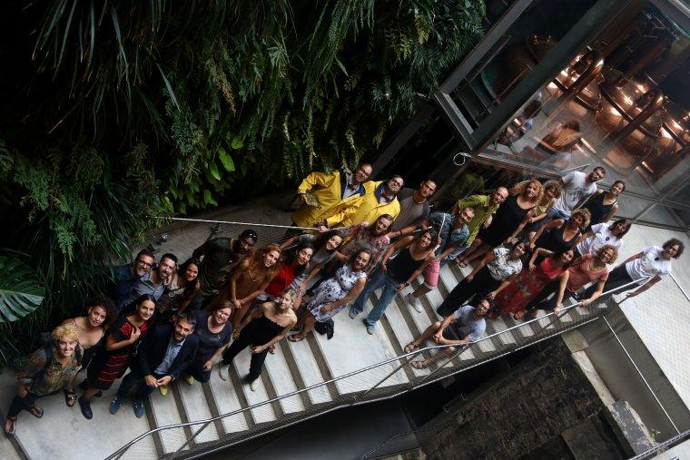 Pla general d'integrants de companyies participants de la FiraTàrrega 2018