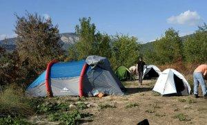 Imatge de l'acampada