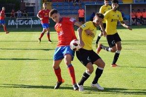 Imatge del partit contra el CD Teruel