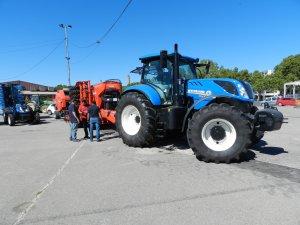Un tractor a la fira