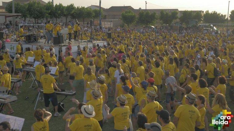 Fotograma extret del vídeo oficial de la segona edició del No Surrender Festival