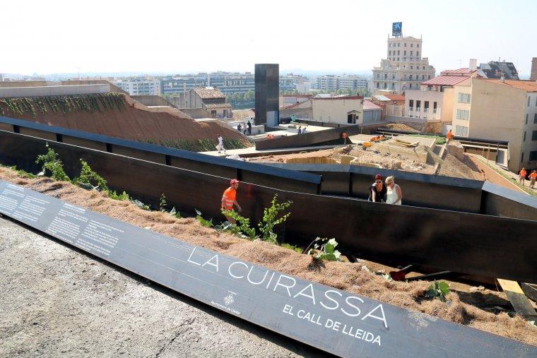 Imatge de la Cuirassa, el Call Jueu de Lleida