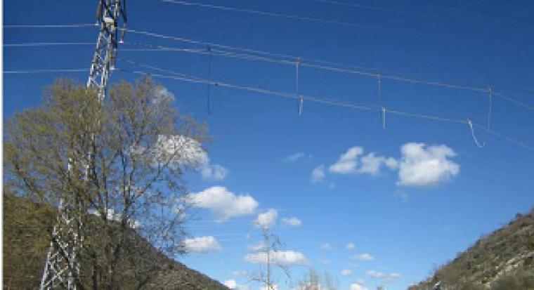 Imatge de la línia elèctrica