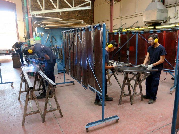 Imatge d'un dels tallers de l'IMO