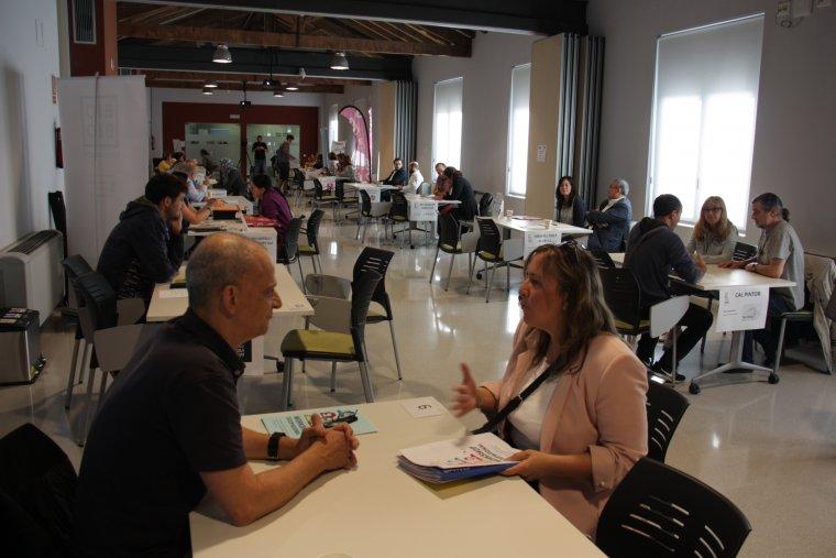 Pla general de les entrevistes individuals que s'han dut a terme en el marc de la quarta edició del Workshop