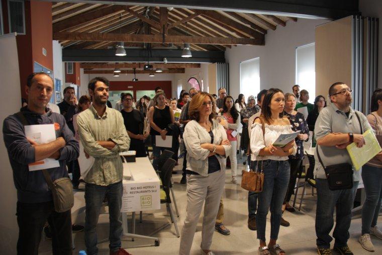Pla general dels assistents a la quarta edició del Workshop Ocupacional de la Seu d'Urgell