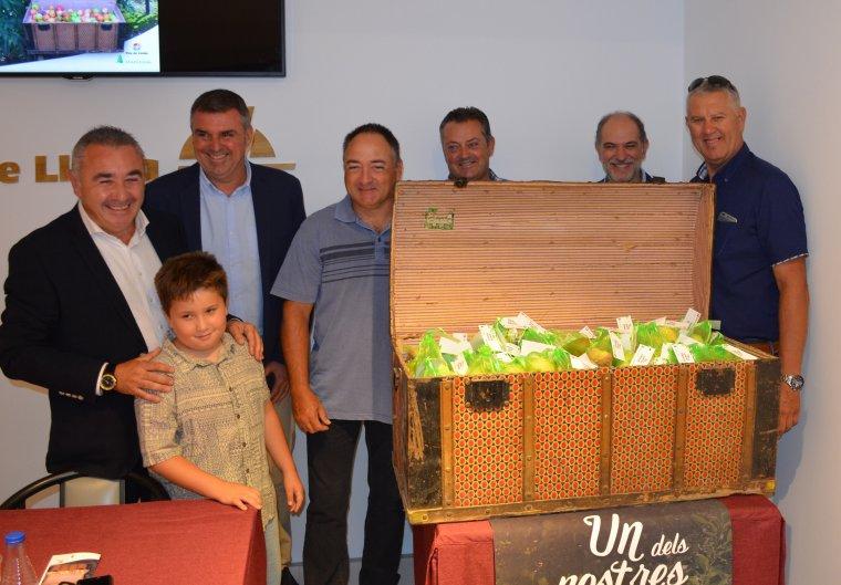 Representants d'Asaja, de Fira de Lleida i de la Paeria