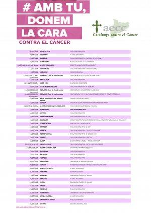 Agenda dels actes a Lleida