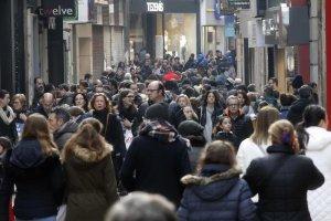 Imatge d'arxiu de l'Eix Comercial de Lleida